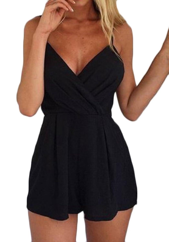 Kunden zuerst billig werden Modestil Damen Jumpsuit Elegant Festlich Vintage Cute Chic trägerlos ...