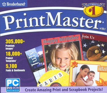 Label Software (PrintMaster 18.1)