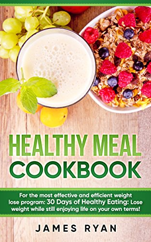Healthy Meal Cookbook effective efficient ebook product image