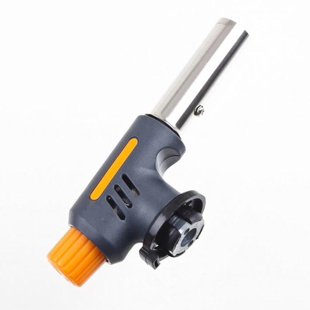 Portable Gas Torch Butane Burner Lighter Flamethrower BBQ Camping Soldering Tool
