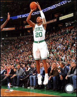 - Ray Allen 2011-12 Action Art Poster PRINT Unknown 8x10