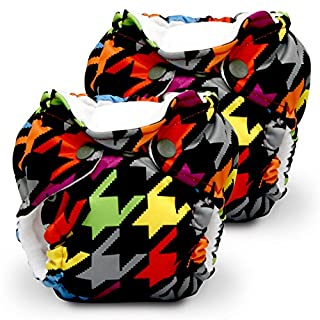 Lil Joey 2 Pack All in One Cloth Diaper, Invader