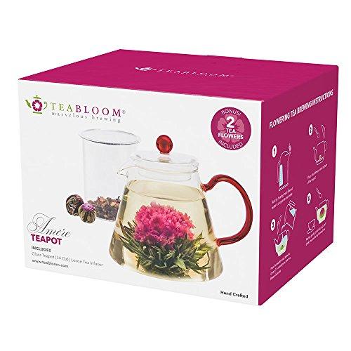 Teabloom Blooming Resistant Borosilicate Infuser