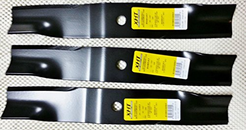 "Set of 3 Heavy Duty  Hustler 60"" Mower Blades 782516 777391 ZTR Models - xht b1hs1004"