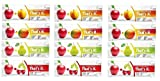 That's It Bar,Variety pack of 12 (3 Pear,3 Cherry,3 Apricot, 3 Mango)