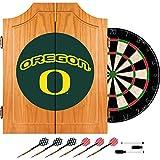 Trademark Gameroom University of Oregon Wood Dart Cabinet Set