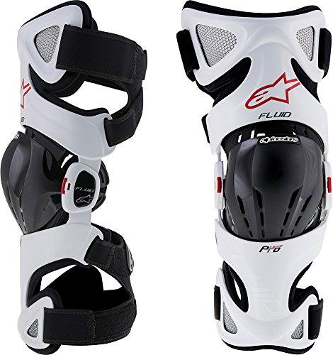 Alpinestars Fluid Pro Knee Brace Set-S/L by Alpinestars