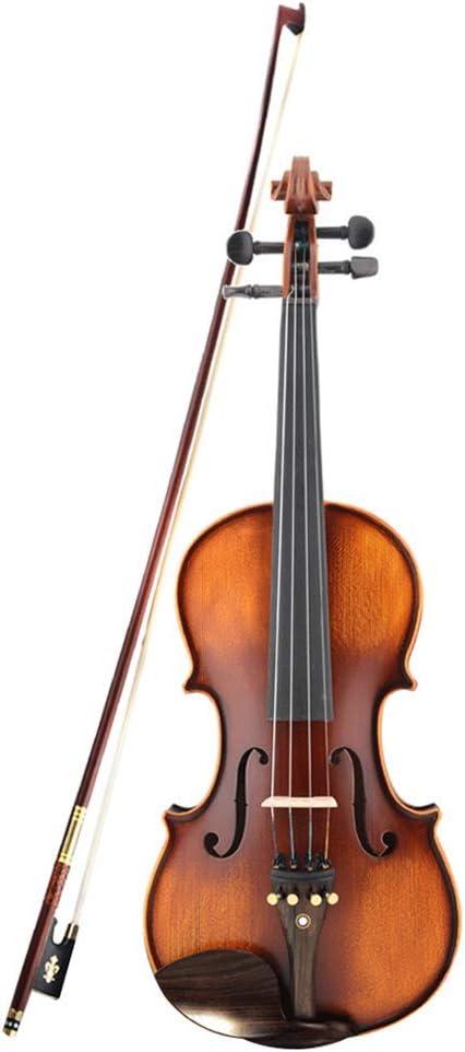 初心者用バイオリン4/4メイプルバイオリノ3/4アンティークマットハイグレードハンドメイドアコースティックバイオリンフィドルケースボウロジン