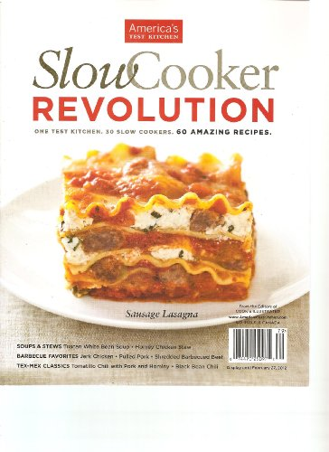 Slow Cooker Revolution Magazine (February 27 2012)