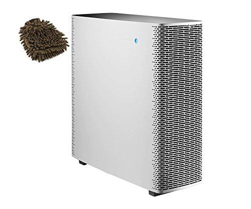 Sense+PW Blueair Air Purifier, Polar White (Complete Set) w/ Bonus: Premium Microfiber Cleaner Bundle by Blueair