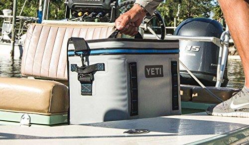 YETI Hopper Flip 18 Portable Cooler Fog Gray/Tahoe Blue