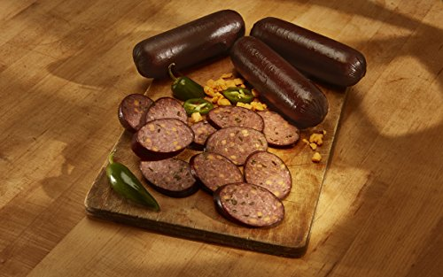 Alewel's Beef Summer Sausage with Cheddar Cheese and Jalapenos