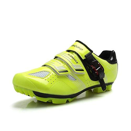 Tiebao - Zapatillas de Ciclismo de Sintético para Hombre: Amazon.es: Zapatos y complementos