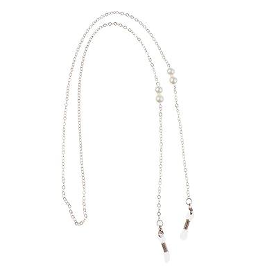 MagiDeal Chaîne Perlé Corde Mode Lunettes de Soleil Perlée Titulaire Cordon  en Perle afcbce499275