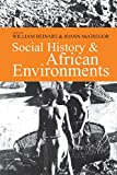 img - for Social History & African Environments (Ecology & History) book / textbook / text book