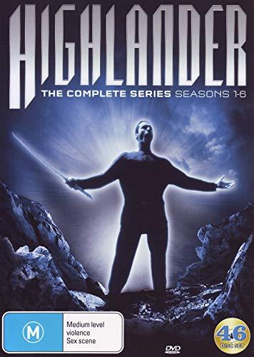 Highlander: The Complete Series: Seasons 1-6 [Australian - Dvd Box Highlander Set