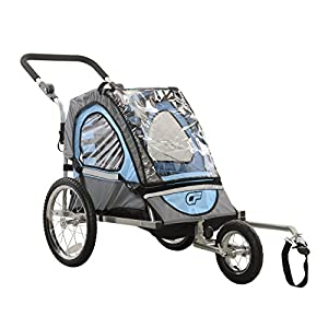 Cycle Force C12 Single Child 2 In 1 Bicycle Trailer & Jogger