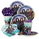 Disney Descendants Birthday Party Standard Tableware Kit Serves 8