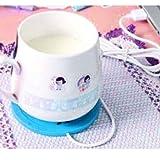 5V USB Beautiful Design 5V USB Silicone Heat Warmer Heater Milk Tea Coffee Mug Hot Drinks Beverage Cup Blue Color