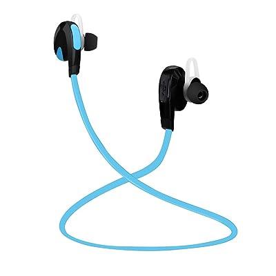 YESDA Auriculares Bluetooth V4.1,Auriculares Inalámbrico Larga Duración de la Batería Recargable, Cascos In Ear de Manos Libres [Deportivos] [Ligeros] [Resistentes al Sudor] para Correr y Gimnásio,