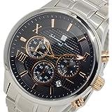 サルバトーレ マーラ クオーツ メンズ クロノ 腕時計 SM15102-SSBKPG ブラック
