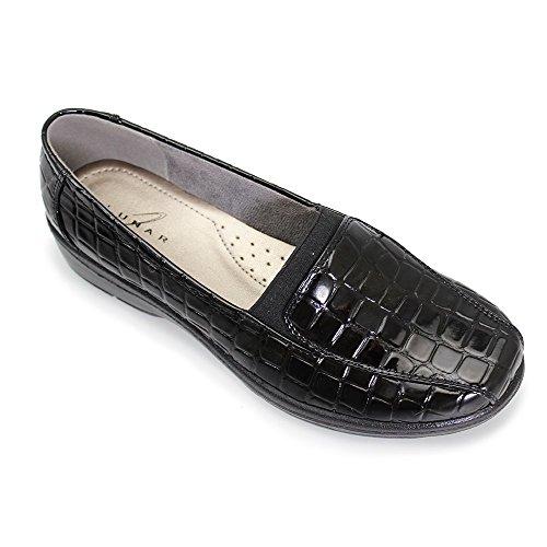 Cocodrilo Negro Lunar nbsp;nieve Fln007 Zapato 1wEBHqxP
