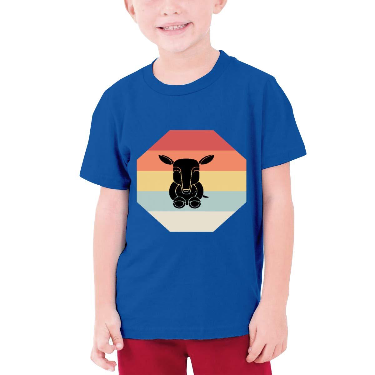 Vintage Anteater Boys Short Sleeve T-Shirt