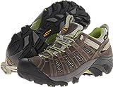 KEEN Women's Voyageur Hiking Shoe,Neutral Gray/Lime Green,10.5 M US