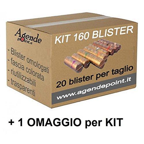 29 opinioni per Blister contenitori per monete euro 160 pezzi assortiti 20 pezzi per taglio in