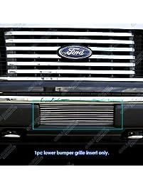 APS F66789A Polished Aluminum Billet Grille Bolt Over for select Ford F-150 Models