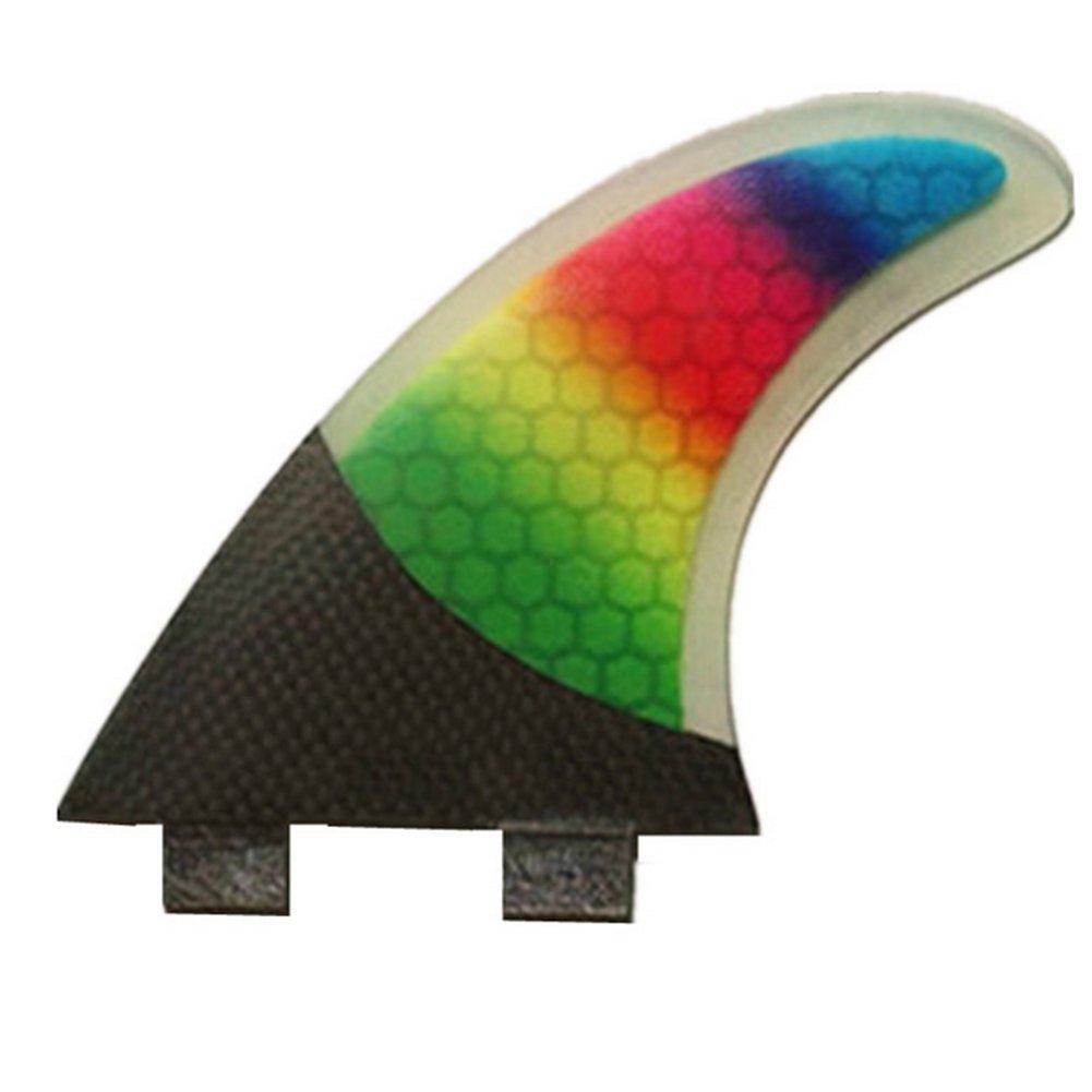 YQ Surfboard Fins Performance Core E Fibra Di Vetro Compensata Pinne Da Tavola Thruster Style (3 Pinne)