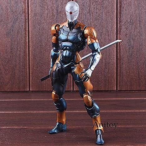 Jugar Arts Kai Metal Gear Solid Cyborg Ninja Gris Fox PVC ...