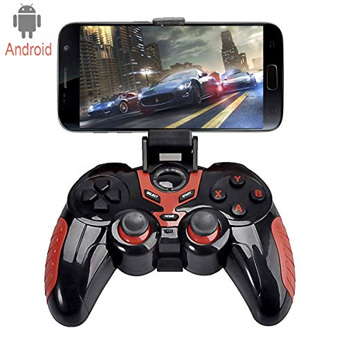 C-Zone 7 in 1 Android Wireless Game Controller, Wireless Phone Controller For Android Phone Samsung Huawei, Google Meizu oppo vivo series of Android devices/ Tablet / TV Box (Best Moba On Ios)