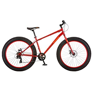 Mongoose Aztec Fat Tire Bicycle, Red