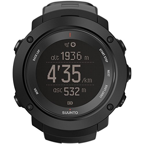 Suunto SS021964000  Ambit3 Vertical HR Monitor Running GPS Unit, Black