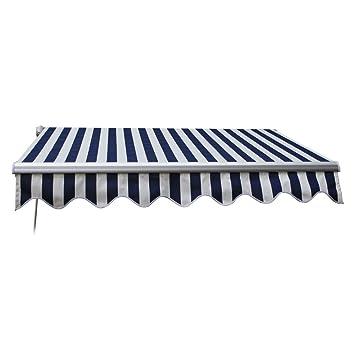Z ZTDM 10u0027x8u0027 Manual Retractable Awning Home Use Door U0026 Window Sunshade  Shelters