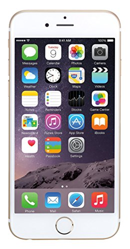 Apple iPhone 6 Unlocked Smartphone, 16 GB (Gold) (Certified Refurbished) (Mobile Phone Gb T 16 6 I)