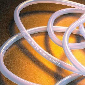SANI-Tech STHT-C-062-1 Platinum-Cured Silicone Tubing, 1/16