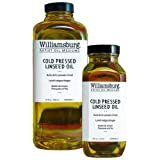 Williamsburg Cold Pressed Linseed Oil Medium: 4 oz. Bottle