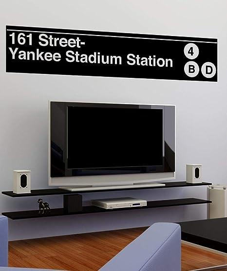 New York Yankees Sports Subway Art Vinyl Wall Decal