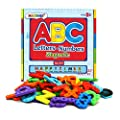 Magnetic Letters and Numbers for Educating Kids in Fun -Educational Alphabet Refrigerator Magnets -82 Pieces by Magtimes