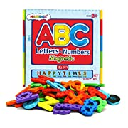 #LightningDeal Magnetic Letters and Numbers for Educating Kids in Fun -Educational Alphabet Refrigerator Magnets and Uppercase and Lowercase Letters -82 Pieces