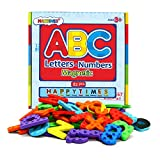Magnetic Letters and Numbers for Educating Kids in Fun -Educational Alphabet Refrigerator Magnets -82 Pieces