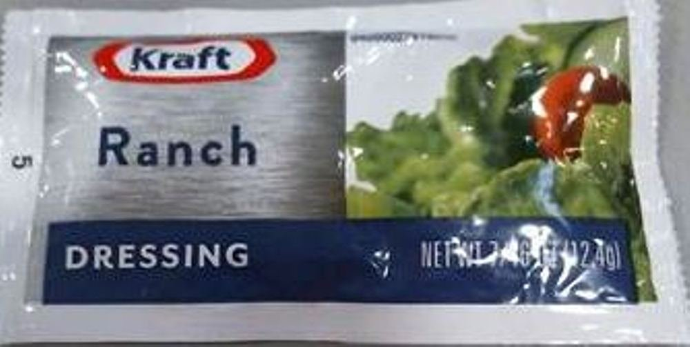 Kraft Ranch Salad Dressing, 0.4375-Ounce Single Serve Pouches (Pack of 200)