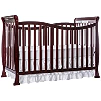 Dream On Me Violet 7 in 1 Convertible Life Style Crib (Cherry)