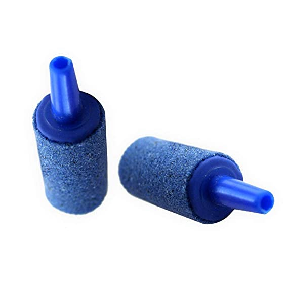 Ogquaton Acuario de Aire de Piedra de Aire Burbujas de Burbujas de Piedra Forma cilíndrica de Aire Acuario de Piedra Accesorios para Tanques de Peces de ...