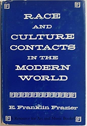 Book Race and culture contacts in the modern world