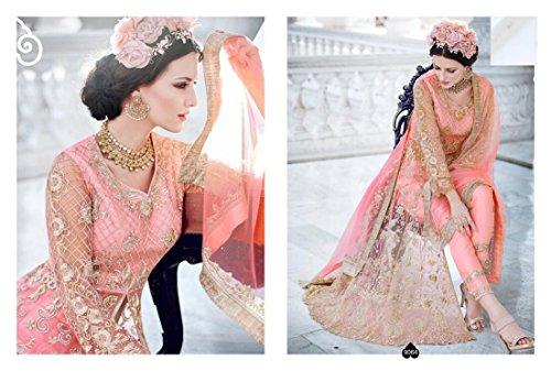 pavimento Hijab da sposa del progettista da festa 786 donne kaftaan musulmane Abito Lunghezza Abito Salwar 359 Anarkali lungo del wYqFHnxP