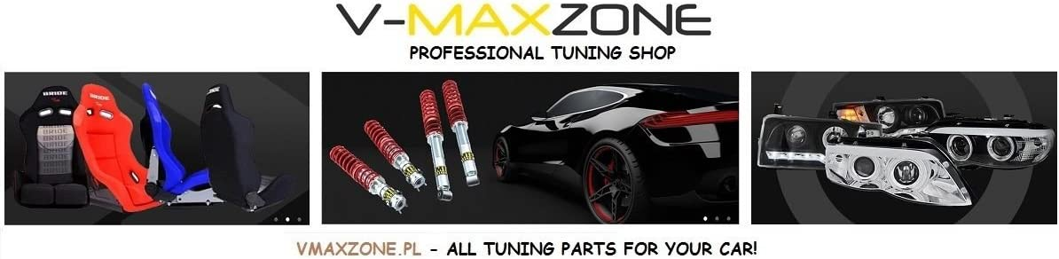 V-Maxzone M-2540 Coude en silicone 90/° Noir Taille XL 45 mm