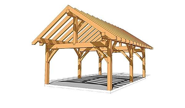 Marco de madera Pavilion Plan de 16 x 24: Amazon.es: Bricolaje y herramientas